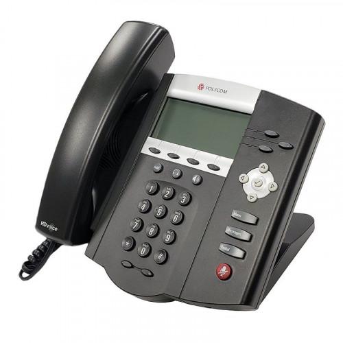 Teléfono SoundPoint IP 450, 3 Líneas con HD, Incluye Adaptador de corriente Poly
