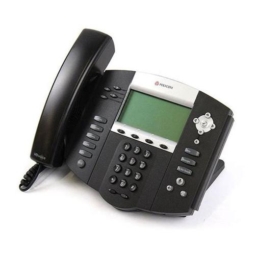 Teléfono SoundPoint IP 560 SIP, pantalla 4 líneas, Incluye Fuente Alimentación Poly