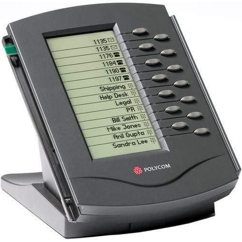 SoundPoint IP Backlit Expansion Module for SoundPoint IP 650 SIP desktop IP phone Poly