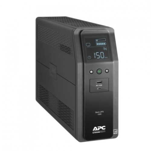 BR1500M2-LM Back UPS PRO BR 1500VA,10 Outlets, 2 USB Charging Ports, AVR, LCD Iinterface, LAM APC