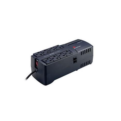 SBAVR2200 Regulador 2200VA/1100 Watts 8 contactos protección de línea telefónica RJ-11 Smartbitt