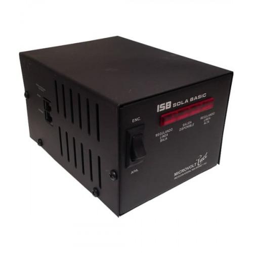 Regulador de  2KVA 120V  con 4 contactos ISB