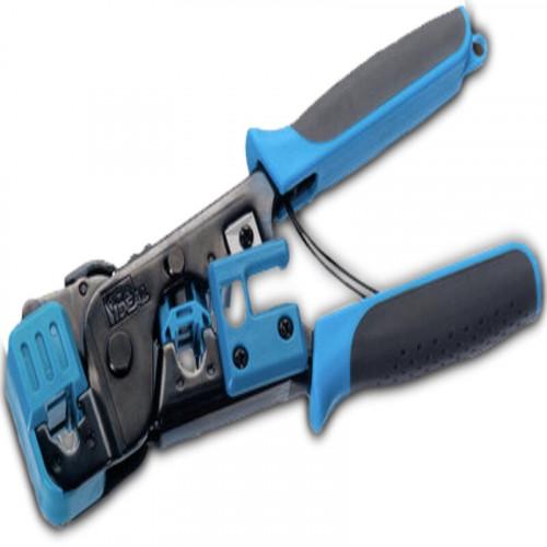 30-496 Pinza crimpeadora para plug RJ11 y RJ45 IDEAL