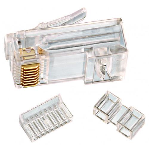 85-366 Paquete Plug RJ45 Cat 6 de 25 pzas IDEAL