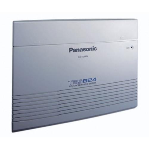KX-TES824 Central telefónica analógica 3 líneas 8 extensiones con crecimiento hasta 8 líneas 24 extensiones Panasonic