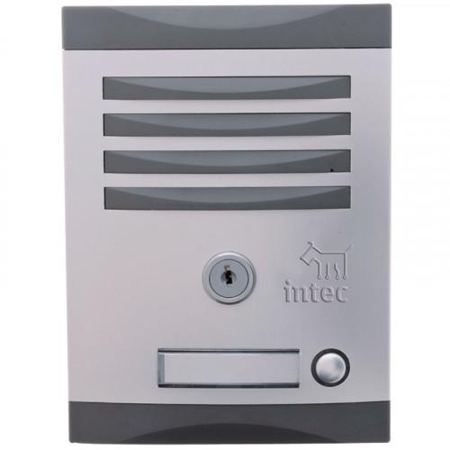 INK-1 Interfon Frente de calle un botón INTEC