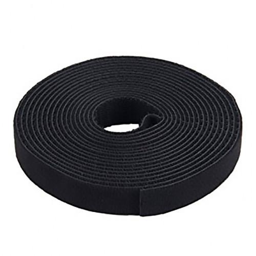 Rollo de Velcro 25 Yardas 3/4 Global Tapes Negro CARDO