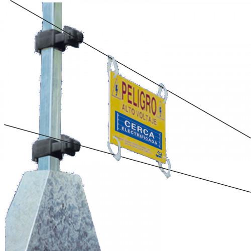 Kit completo de cerca electrificada para 20 metros de barda INTEC